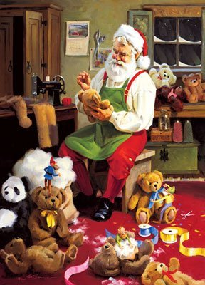 Season Greetings 500pc Puzzle Bearly Christmas