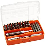 Black & Decker 71-912 Drill and Screw Bit Set, 45-Piece