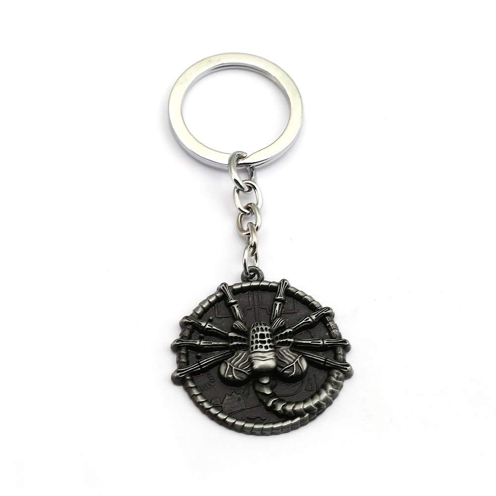 Value-Smart-Toys - Fashion Movie Metal Facehugger Keychain ...