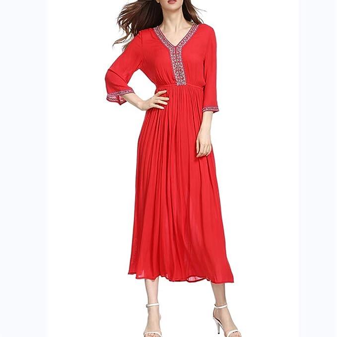 Xy888Happy woman Vestido Falda Corta Falda de Moda Vestido de ...