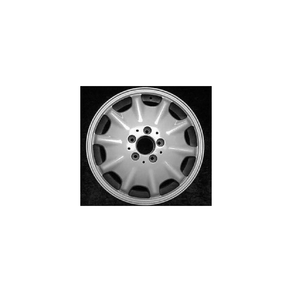 98 99 MERCEDES BENZ E430 e 430 ALLOY WHEEL RIM 16 INCH, Diameter 16, Width 7.5 (10 HOLE), MACHINED FINISH, 1 Piece Only, Remanufactured (1998 98 1999 99) ALY65168U10