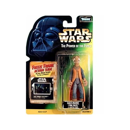 Star Wars: Power of the Force Freeze Frame Saelt Marae (Yak Face) Action Figure