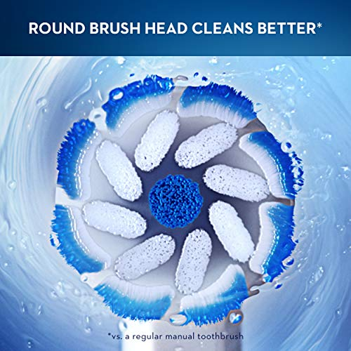 Oral-b 9600 Electric Toothbrush, 3 Brush Heads, Powered By Braun, White by Braun (Image #12)