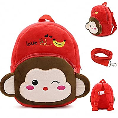 new Vantina Toddler Safety Harness Backpack Cute Cartoon Plush Bag with  Anti-lost Leash for 545ee977aca0d