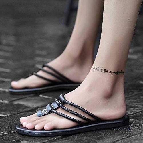 @Sandals Neue Art Toe Flip Flops, Personalisierte Toe Art Hausschuhe, Mode Schuhe, Jugend c2e2e0