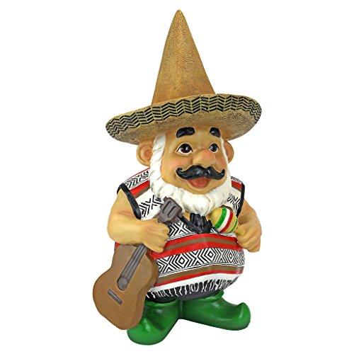 Cheap  Design Toscano Garden Gnome Statue - Pancho the Mariachi Gnome - Outdoor..