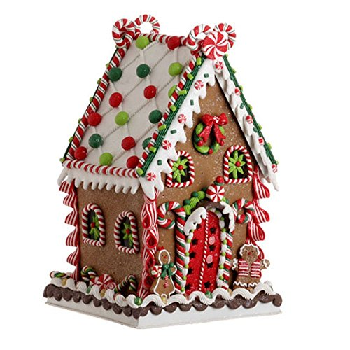 RAZ Imports 13.5 in. Gum Drop Gingerbread House