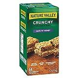 NATURE VALLEY Crunchy Oats 'n' Honey Granola Bars, 64-Count, 1472 Gram