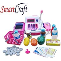 Smartcraft Educational Cash Register Electronic Banking Pretend Play (Multi)