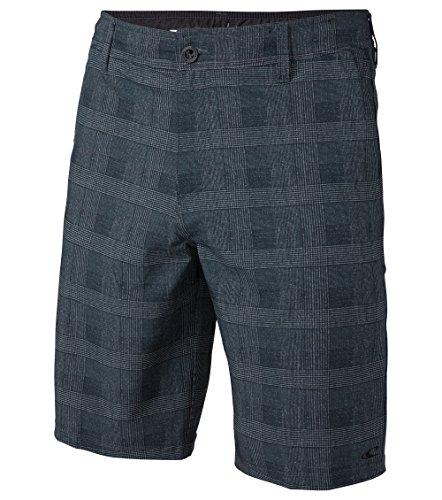 Grey Asphalt Shorts - O'Neill Men's 21 Inch Outseam Hybrid Stretch Walk Short, Asphalt Grey, 29