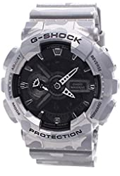 Casio Mens G SHOCK CAMO Analog-Digital Sport Quartz Watch (Imported) GA-110CM-8A
