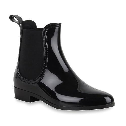 magasiner pour authentique couleurs délicates beaucoup à la mode Bottines pour femme - Chelsea Boots - Bottes en caoutchouc imprimé Animal -  Talon bloc - Chaussures avec motifs - Bottines brillantes en caoutchouc ...