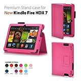 Elsse For Kindle Fire HDX 7 - Premium Folio Case for All New Kindle Fire HDX 7