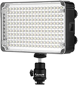 Aputure AL-H198C CRI 95+ LED Antorcha de cámara: Amazon.es ...
