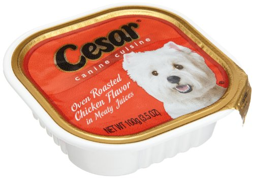 Cesar classics oven roasted chicken flavor in meaty juices dog import it all - Cuisine cesar ...