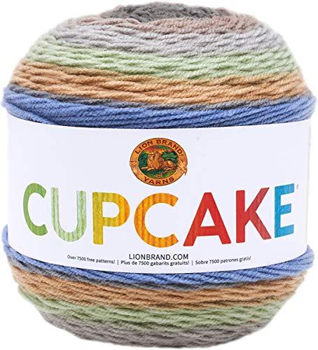 Lion Brand Yarn Cupcake Yarn, Tundra