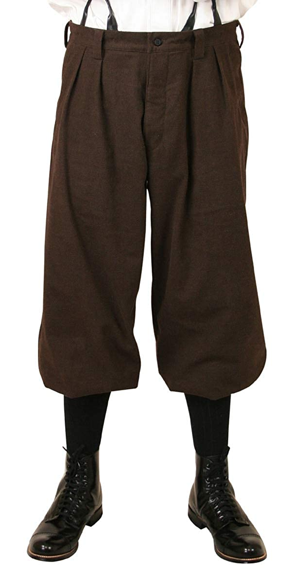 1910s Men's Working Class Clothing Baxter Cotton Blend Knickers Historical Emporium Mens $64.95 AT vintagedancer.com