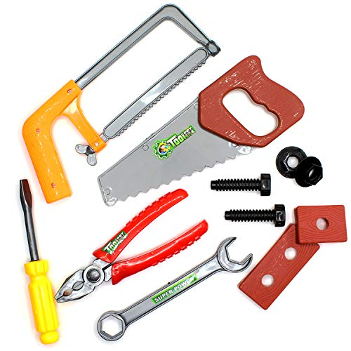 Construction Tool Set for Kids - 10-pc Assorted