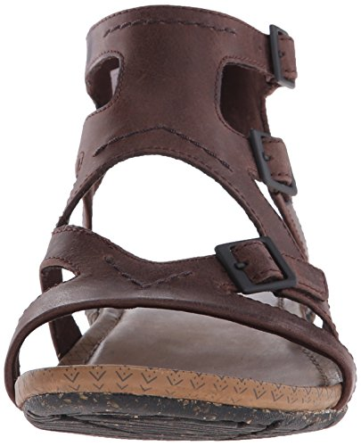Buckle Brown Donna Merrell Espadrillas Whisper Basse BTaFUq