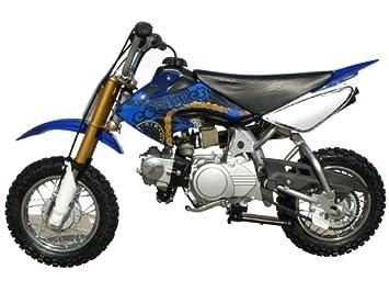 Dirt Bike 70cc Semi Automatic Blue Automotive
