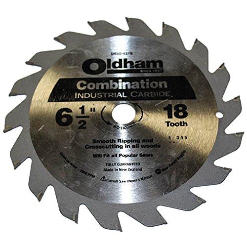 Oldham 6-1/2 18 Tooth Fast Cutting Circular Saw (Oldham Circular Saw)