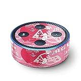 NFL Jacksonville Jaguars Echo Dot (2nd Gen, 2016) Skin - Jacksonville Jaguars - Blast Pink Vinyl Decal Skin For Your Echo Dot (2nd Gen, 2016)
