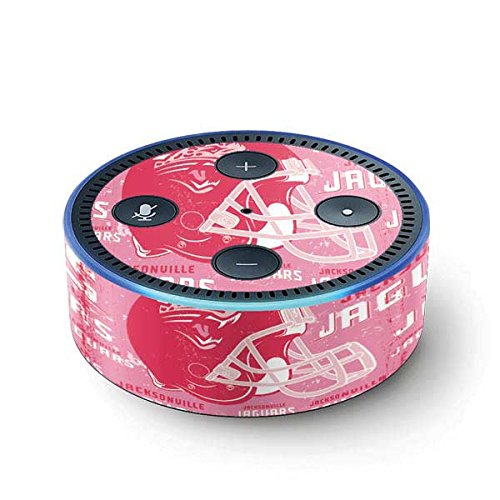 NFL Jacksonville Jaguars Echo Dot (2nd Gen, 2016) Skin - Jacksonville Jaguars - Blast Pink Vinyl Decal Skin For Your Echo Dot (2nd Gen, 2016) by Skinit