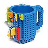 Build On Brick Blue Coffee Mug
