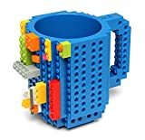 Build On Brick Blue Coffee Mug
