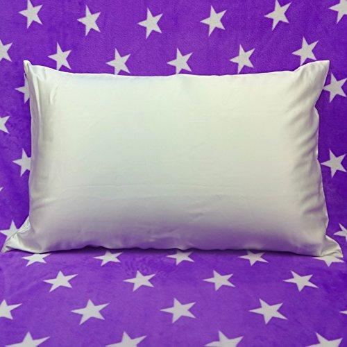 Soft Silker 30mm Silk Pillowcase, Queen, White