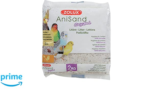 Zolux ANISAND Crystal 2KG: Amazon.es: Productos para mascotas
