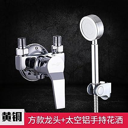 Cocina Grifo Mezclador lavabo del baño o la ducha Reverse-Copper-Sustitución Grifo de