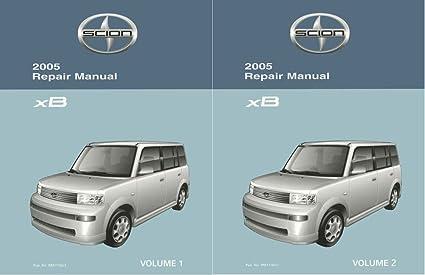 amazon com bishko automotive literature 2005 scion xb shop service rh amazon com scion xb shop manual scion frs shop manual