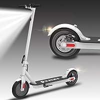 "Patinete Eléctrico adultos, Plegable luz LED, 15/18/25KM/H,scooter ultraligero E, neumáticos de retroceso, motores eléctricos de 6,5 ""/8.5"", scooters de largo alcance para adultos y adolescentes"