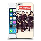 iphone 5 cases one direction - Official One Direction Lined Bg Group Photographs Autographed Hard Back Case for Apple iPhone 5 / 5s / SE