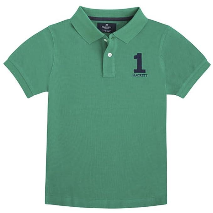 Hackett - Polo de Hackett, Niño, Verde, Talla 2: Amazon.es: Ropa y ...