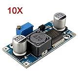 10Pcs 4A XL6009E1 Adjustable DC-DC Step Up Converter Power Supply Module - Arduino Compatible SCM & DIY Kits Module Board - 10 x 4A XL6009E1 Adjustable DC-DC Step Up Boost Converter Power Supply