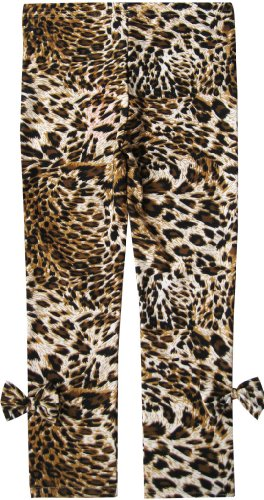 Sunny Fashion Girls Pants Leggings Leopard Print