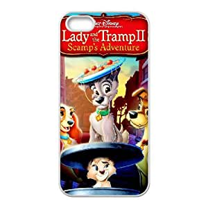 iPhone 5 5s Cell Phone Case White Lady and the Tramp II Scamp's Adventure atlas phone case adgh7999122