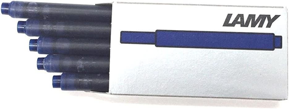BLACK Four packs of Lamy T10 fountain pen ink cartridges