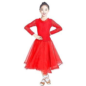Amazon.com: Byx- Childrens Modern Dance Waltz Costume ...