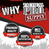 Tactical Pro Supply USA Sweatshirt Hoodie- American Flag Patriotic Jacket Sweater for Men or Women - Black, White Flag