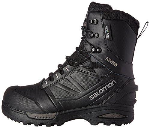 27147bdb96a SALOMON Men's Toundra PRO CSWP Snow Boot, Black/Autobahn