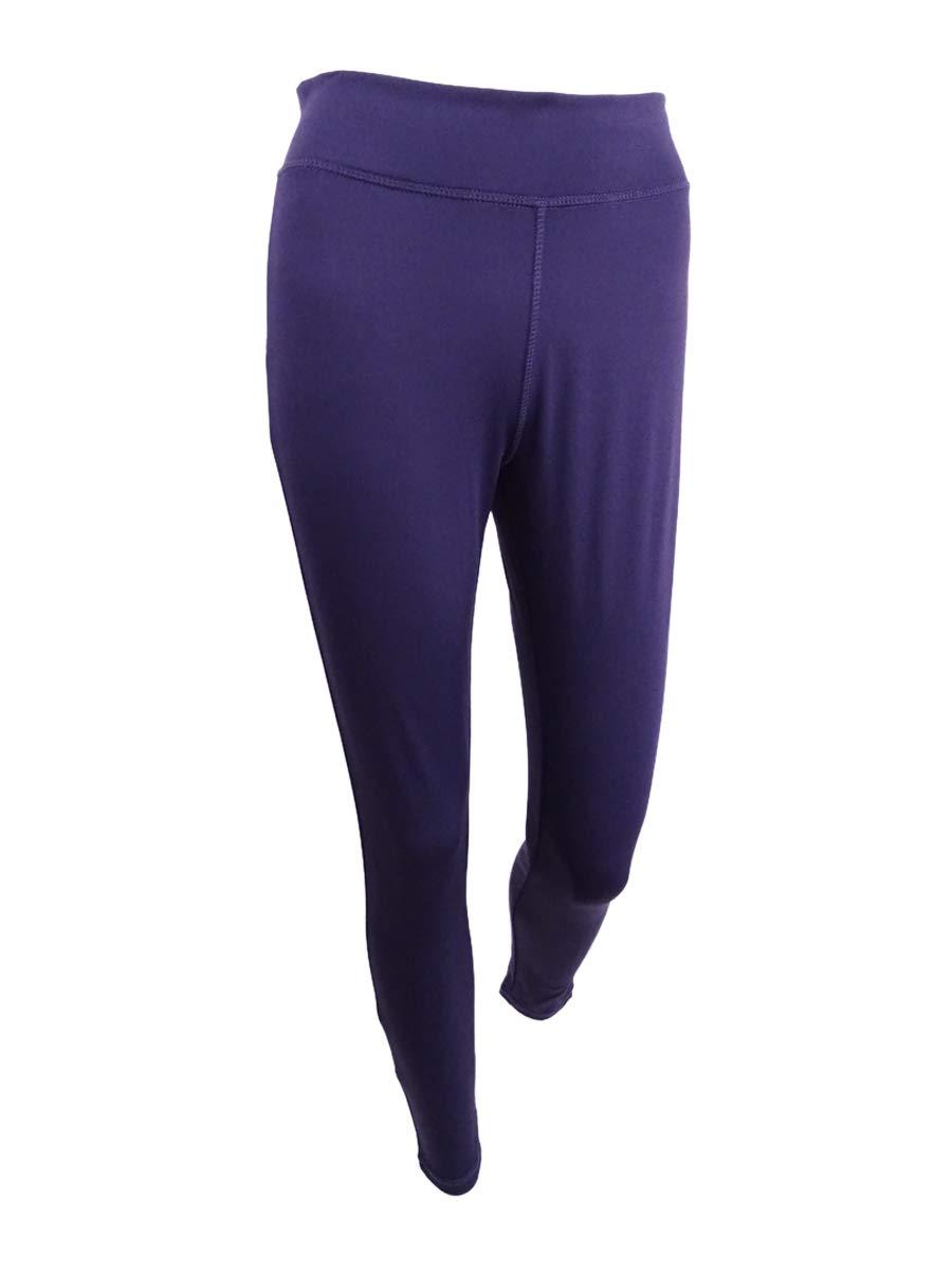 Energie Active Juniors' Hallie High-Waist Leggings (Purple, M)