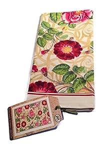 Michel Design Works Damask Rose Kitchen Towel