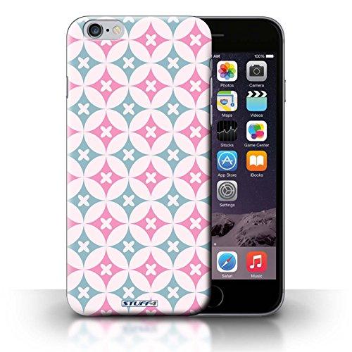 Hülle Case für iPhone 6+/Plus 5.5 / Pink/Blau Entwurf / Kaleidoskop Collection