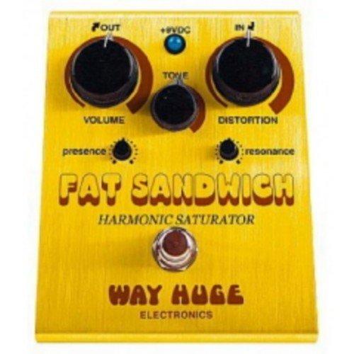 Fat Sandwich - PEDALES EFECTO WAY HUGE - Dunlop (WHE301) Fat Sandwich (Harmonic Saturator Distorsion)