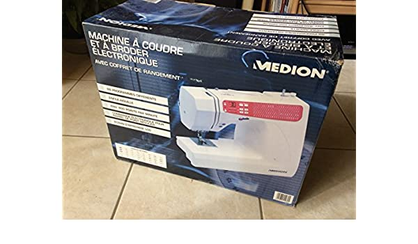 MEDION Máquina de Coser electrónica 11082 de MD: Amazon.es: Hogar
