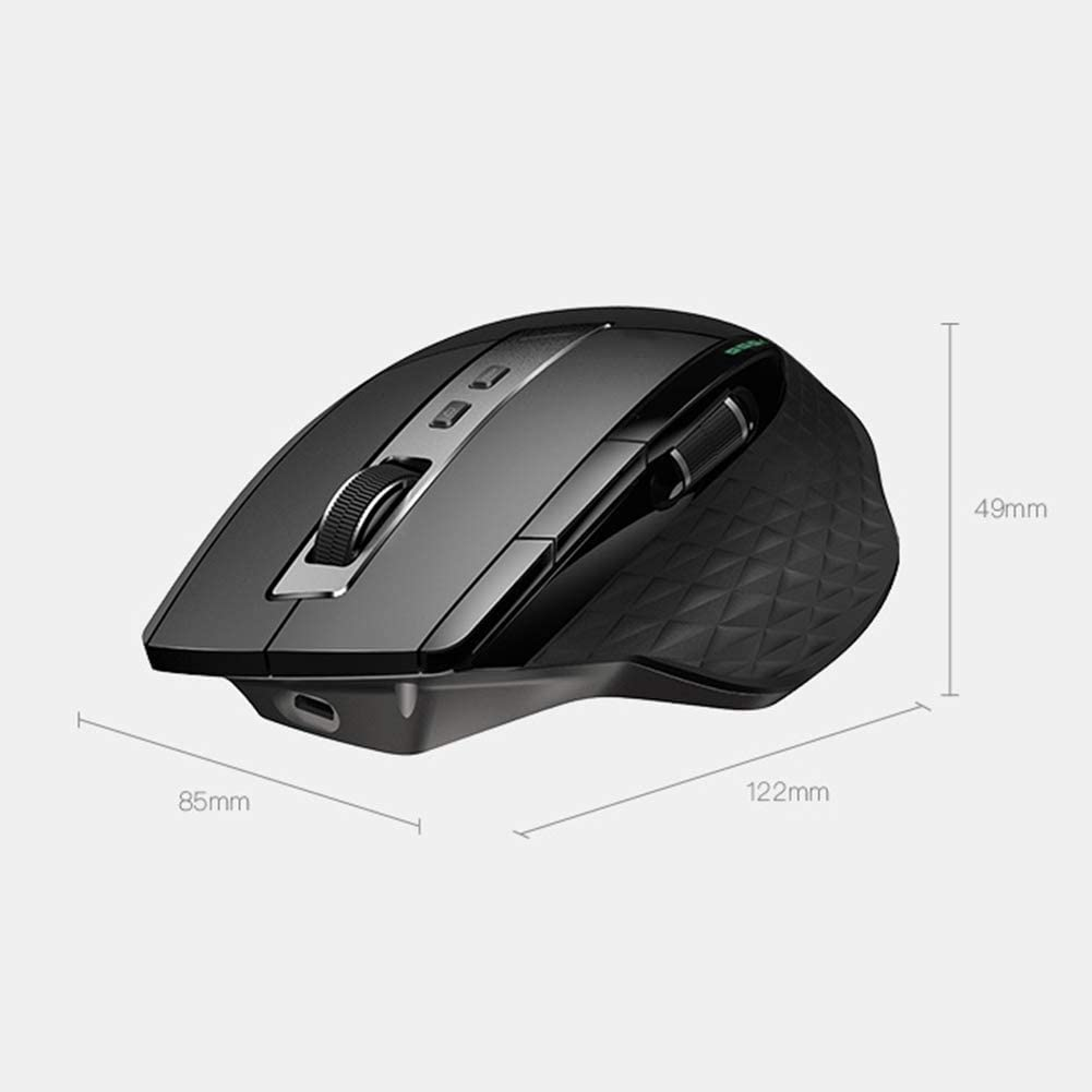 YL Mouse Wireless Bluetooth Mouse Rechargeable Office Home Mouse Boys and Girls E-Sports Games CF//LOL Overwatch Jedi Survival Professional Gaming Mouse