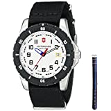 Victorinox Men's 241676.1 Analog Display Swiss Quartz Black Watch
